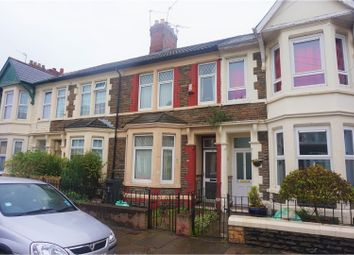 Thumbnail 3 bed terraced house for sale in Moorland Road, Cardiff
