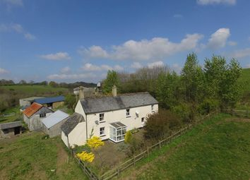 Thumbnail 3 bedroom farm for sale in Broadwoodwidger, Lifton