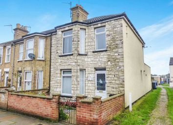 Thumbnail 2 bedroom terraced house for sale in Florence Road, Lowestoft