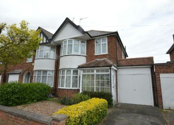 Thumbnail 3 bed semi-detached house for sale in Shakespeare Drive, Braunstone, Leicester