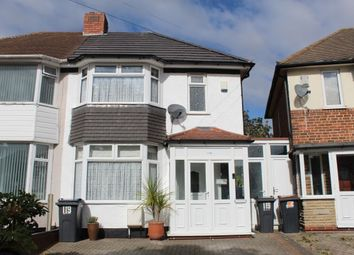 Thumbnail 2 bed semi-detached house for sale in Gleneagles Road, Birmingham
