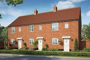 Thumbnail 1 bed semi-detached house for sale in Cromer Road, Holt, Norfolk