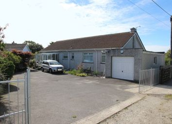 Thumbnail 3 bed detached bungalow for sale in Indian Queens, St. Columb