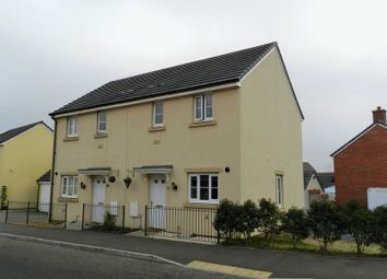 Thumbnail 2 bed semi-detached house to rent in Ffordd Y Draen, Coity, Bridgend
