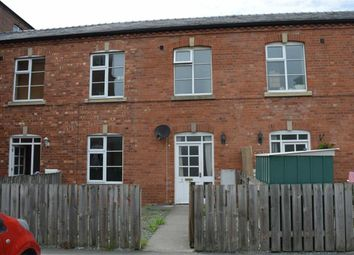 Thumbnail 3 bed terraced house to rent in 2, Cymric Mill, Canal Road, Newtown, Powys