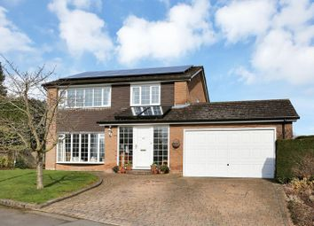 Thumbnail 4 bed detached house for sale in Paterson Drive, Woodhouse Eaves, Loughborough