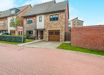 Thumbnail 4 bed detached house for sale in Beluga Close, Off London Road, Peterborough, Cambridgeshire
