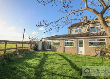 Thumbnail 4 bed semi-detached house for sale in Meadow Close, Thurlton, Norwich