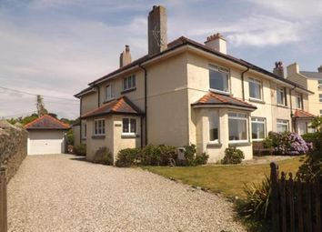 Thumbnail 5 bed detached house for sale in West Parade, Criccieth, Gwynedd