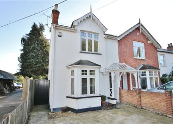 Thumbnail 3 bed semi-detached house for sale in Stroude Road, Virginia Water