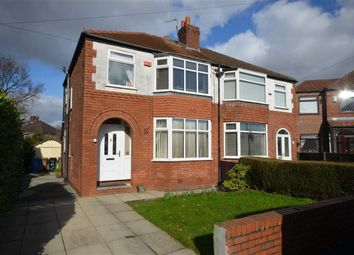 Thumbnail 3 bed semi-detached house for sale in Rudyard Grove, Heaton Chapel, Stockport, Greater Manchester