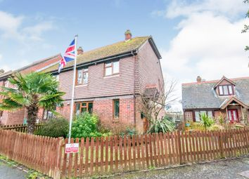 High Street, Pevensey BN24. 3 bed end terrace house for sale