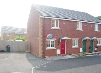 Thumbnail 2 bed end terrace house to rent in Clos Y Cydyll Coch, Broadlands, Bridgend.