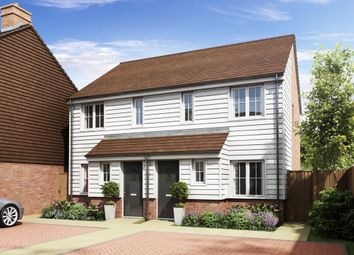 "Thumbnail 2 bed semi-detached house for sale in ""The Alnwick"" at Rattle Road, Stone Cross, Pevensey"
