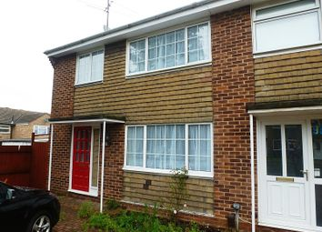 Thumbnail 3 bedroom end terrace house to rent in Edinburgh Avenue, Sawston, Cambridge