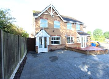 Thumbnail 3 bed semi-detached house for sale in Wembury, Amington, Tamworth