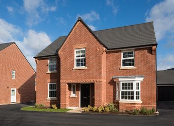 "Thumbnail 4 bed detached house for sale in ""Winstone"" at Main Road, Earls Barton, Northampton"