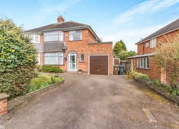 Thumbnail 3 bed semi-detached house for sale in Eastcote Close, Shirley, Solihull