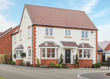 "Thumbnail 4 bed detached house for sale in ""The Halford - Showhome Sale & Leaseback"" at Broughton Road, Banbury"