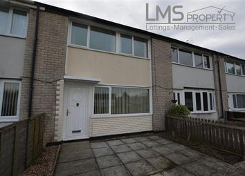 Thumbnail 3 bed terraced house to rent in Esk Road, Winsford
