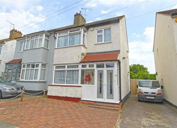 Thumbnail 3 bed semi-detached house for sale in Arnold Avenue, Southend-On-Sea