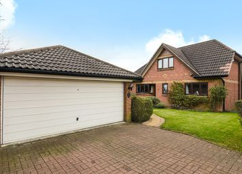 Thumbnail 4 bed detached house for sale in The Laurels, Basingstoke