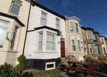 Thumbnail 3 bed terraced house to rent in Luton Road, Chatham, Kent
