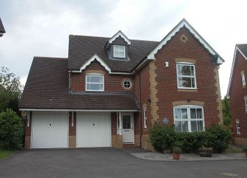Thumbnail 5 bed detached house to rent in Firecrest Road, Basingstoke