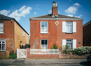 Thumbnail 3 bed semi-detached house for sale in Middle Road, Lymington, Hampshire