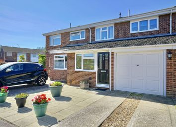Thumbnail 3 bed terraced house for sale in Windsor Close, Eynesbury, St Neots