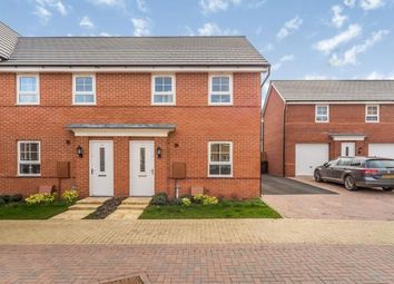 3 bed end terrace house for sale in Fells Meadow, Marston Moretaine, Bedford, Bedfordshire MK43