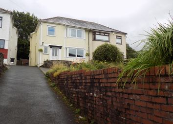Thumbnail 3 bedroom semi-detached house for sale in Neath Road, Crynant, Neath, Neath Port Talbot.