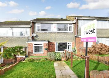 Thumbnail 4 bed terraced house for sale in Brentwood Crescent, Brighton, East Sussex