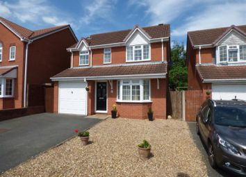 Thumbnail 3 bed detached house for sale in Poplar Drive, Measham, Swadlincote