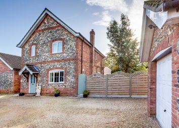 Thumbnail 3 bed detached house for sale in Black Horse Close, Watton, Thetford