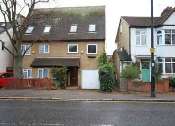 Thumbnail 3 bed semi-detached house for sale in Chase Side, Enfield, Middlesex
