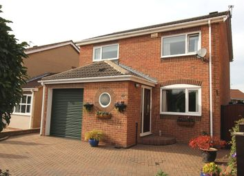 Thumbnail 4 bed detached house for sale in Crossfield Drive, Skellow, Doncaster