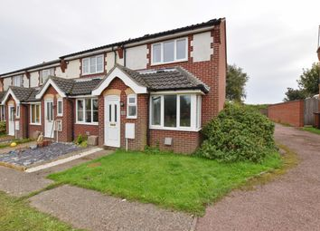 Thumbnail 2 bed end terrace house to rent in Lancaster Rise, Mundesley, Norwich