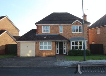 Thumbnail 4 bed detached house for sale in Johns Close, Studley