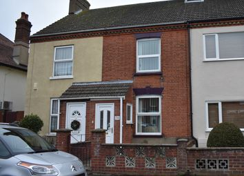 Thumbnail 3 bed terraced house for sale in Suffield Road, Gorleston, Great Yarmouth