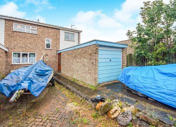 Thumbnail 3 bed end terrace house for sale in Elgar Close, Lowestoft