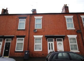 Thumbnail 2 bed terraced house for sale in Wellington Street, Burton-On-Trent