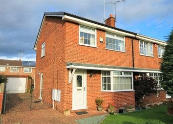 Thumbnail 3 bedroom semi-detached house for sale in The Rushes, Mansfield Woodhouse, Mansfield, Nottinghamshire