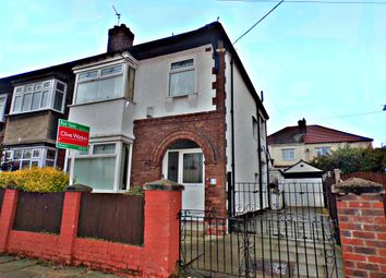 Thumbnail 3 bed semi-detached house for sale in Wharfedale Avenue, Birkenhead