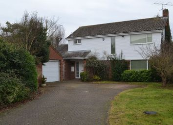 Thumbnail 4 bedroom detached house to rent in Lawrance Lea, Harston, Cambridge