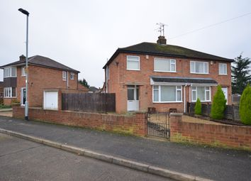 Thumbnail 3 bedroom semi-detached house for sale in Rayner Avenue, Stanground, Peterborough