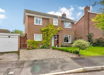Thumbnail 4 bed detached house for sale in Falcon House Gardens, Woolton Hill, Newbury