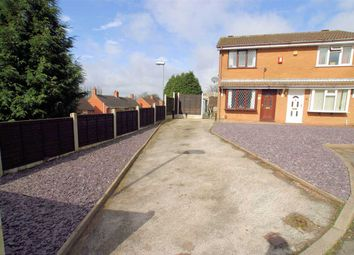 Thumbnail 2 bed semi-detached house for sale in Knarsdale Close, Adderley Green, Stoke On Trent