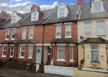 Thumbnail 3 bed terraced house for sale in Ethelbert Road, Folkestone, Kent