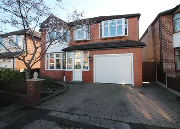 Thumbnail 4 bed detached house for sale in Chesham Avenue, Urmston, Manchester